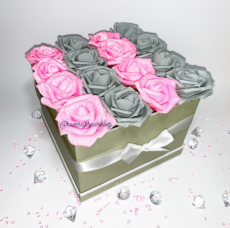 Couture Square Rose Boxes